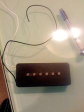 Seymour Duncan Hot for Jazzmaster with ピンバイス!